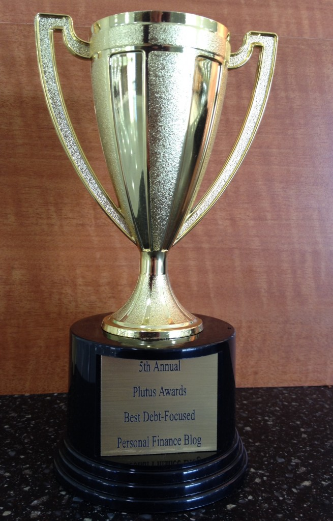 Plutus Award Best Debt Blog (award)