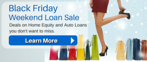 Mockup of Black Friday Loan Sale