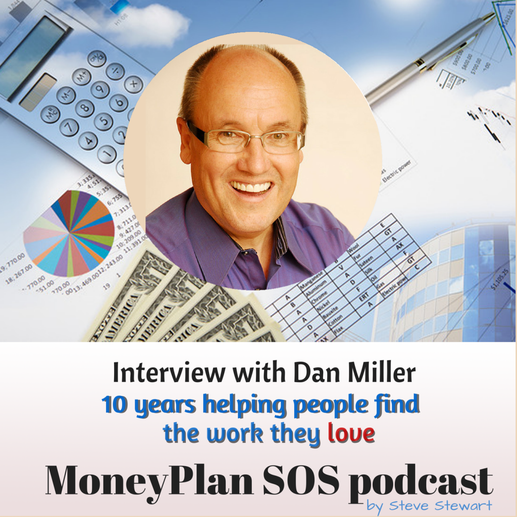 Dan Miller on the MoneyPlan SOS podcast