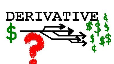 Word of the week: DERIVATIVE
