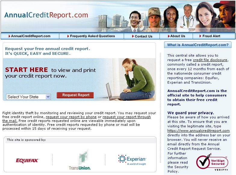 Reminder: Review your Credit Report