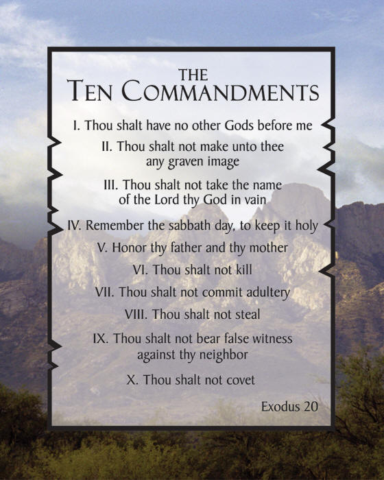 Message Monday – Tithing is not one of the Ten Commandments